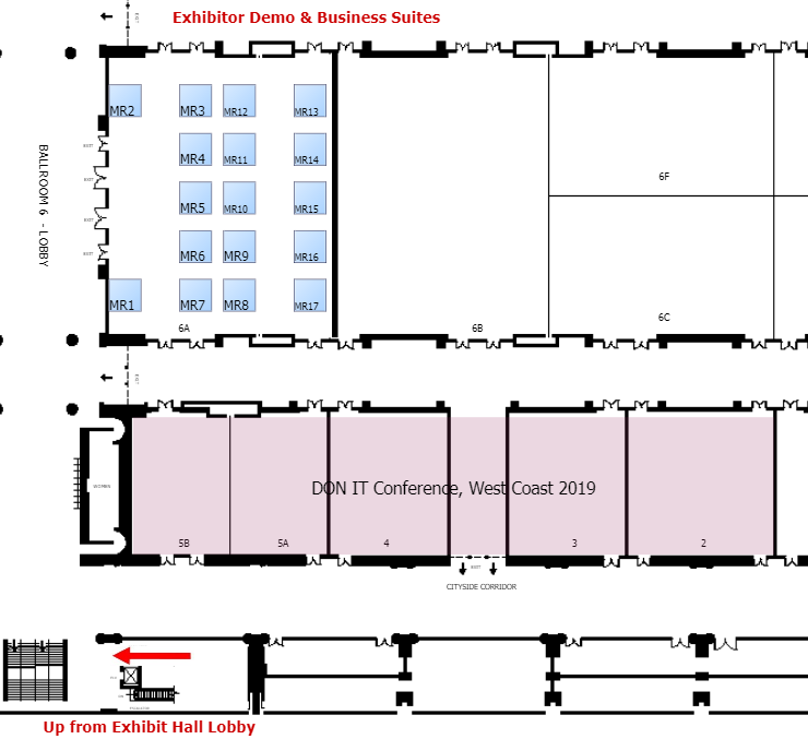 Exhibitor Demo and Business Suites Floorplan